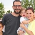 Jani Jugovic in Teja Perjet z družino.