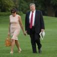 Uporabnike twitterja je presenetila neverjetna podobnost med Donaldom Trumpom in Viktorjem Knavsom (na fotografiji skupaj z ženo Amalijo).