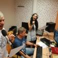 Anita Gošte in Klemen Bunderla, sredin jutranji voditeljski par na Radiu Aktual.