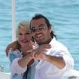 Ivana in njen občasni ljubimec Rossano.