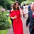 Kate se je s soprogom udeležila zabave britanske ambasade v Berlinu.