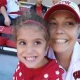 Heather McManamy  s svojo ljubo hčerko.