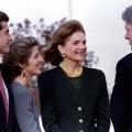 Jackie Kennedy, Bill Clinton