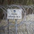 meja, žičnata ograja, slovenija-hrvaška
