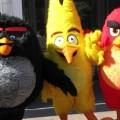angry birds kostum maska