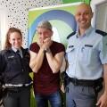 Klemen Bunderla, policist in policistka