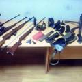zaseženo orožje, ares