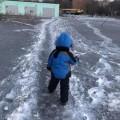 temirtau, črn sneg