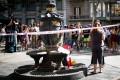 Barcelona, poklon žrtvam terorističnega napada,cvetje,