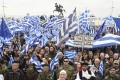 Makedonija, Solun, protesti