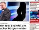 Največji avstrijski dnevnik o Jankovićevi seks aferi, slovenski tabloidi pa molčijo