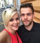 Z Darjo sva v teh dneh postala starša, je novičko na instagramu delil Alen Jankovič.