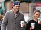 Ashton Kutcher in Mila Kunis žurala s Slovenci