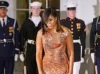 Michelle Obama: Obleka, ki je bila sprejeta z ovacijami