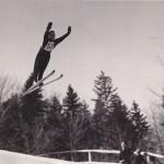 Slavko Avsenik je bil tudi odličen skakalec.