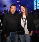 Aleš Uranjek in žena Bojana