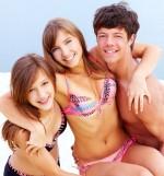 plaža, zabava, najstniki