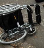 nesreca, invalidka, invalidski vozicek