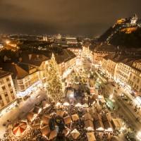 Graz Advent_Christkindlmarkt am Hauptplatz © Graz Tourismus - Foto Fischer