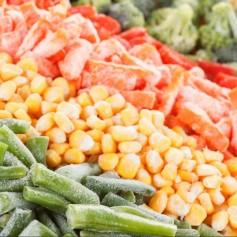 zmrznjena zelenjava