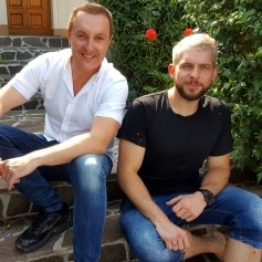 Klemen Bunderla in Frenk Nova 1