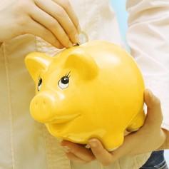 varčevanje hranilnik denar