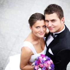 poroka, par, sreča, ljubezen
