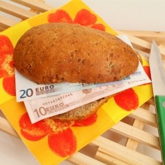 kruh, denar