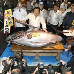 Lastnik restavracij, Kiyoshi Kimura, tuna, ribja tržnica