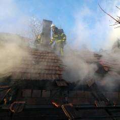 Selnica ob Muri, gasilci, požar, gašenje, Šentilj