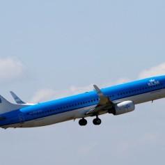 KLM letalo vzlet