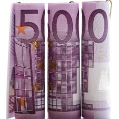 denar, bankovci, 500 evrov
