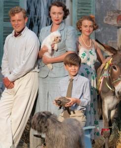 Moja družina in druge živali na sončnem otoku