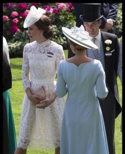 Vojvodinja Kate v prosojnem krilu