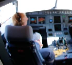 pilot letalo kabina