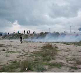 nemiri begunsko taborišče džungla Calais