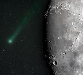 Komet, Luna