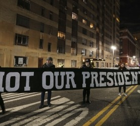 protesti, inavguracija, trump
