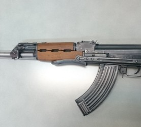 puška, Zasežen predmet - Zastava AP M70 AB2