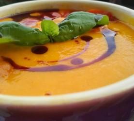bučna juha z nasmehom