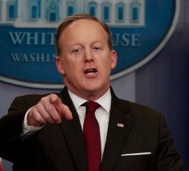 Sean Spicer, tiskovni predstavnik Bele hiše