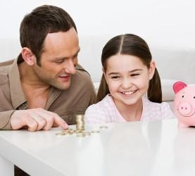 varčevanje, otroci
