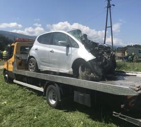 Bistrica ob Dravi, nesreča, vlak, avtomobil