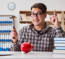 študij, študent, denar