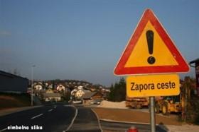 Cesta bo zaradi prenove zaprta