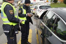 FOTO: Hujših kršitev policisti niso ugotovili