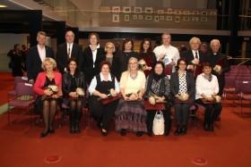 FOTO: Novomeška gimnazija nagrajena v akciji revije Ženska