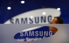 Samsungove delnice občutno navzdol; vodstvo napoveduje nadaljevanje boja proti Applu
