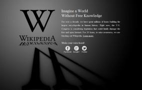 Protestna zatemnitev angleške Wikipedie