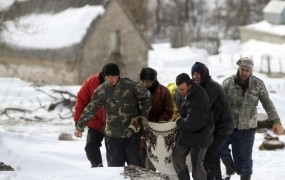 V desetih dneh zaradi mraza v Evropi umrlo že več kot 500 ljudi
